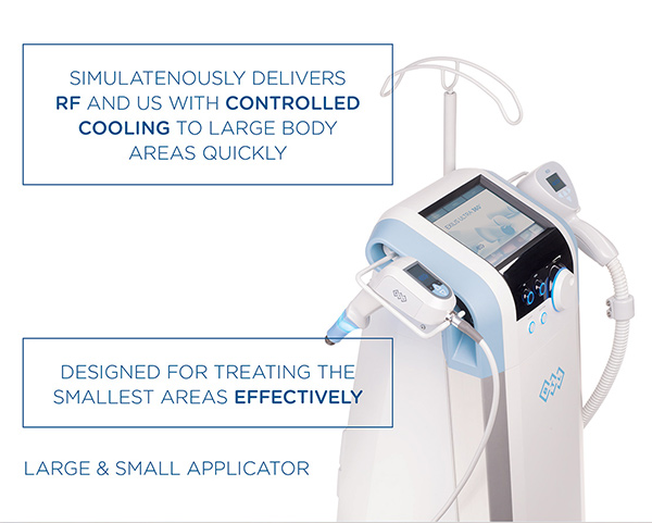 Exilis Ultra 360 Large and Small Applicators for Skin Rejuvenation