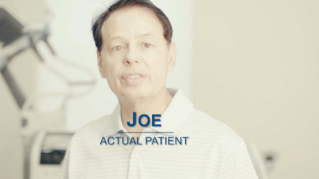 BTL Exilis Ultra VIDEO Testimonial Patient Joe ENUS101